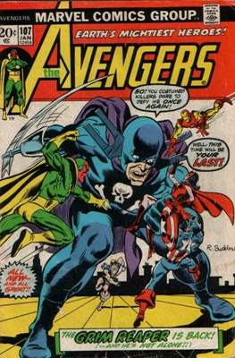 The Avengers Vol. 1 (1963-1996) (Comic Book) #107