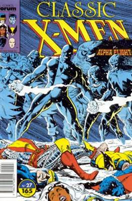 Classic X-Men Vol. 1 (1988-1992) (Grapa 32 pp) #27