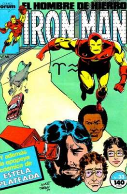 Iron Man Vol. 1 / Marvel Two-in-One: Iron Man & Capitán Marvel (1985-1991) (Grapa, 36-64 pp) #33