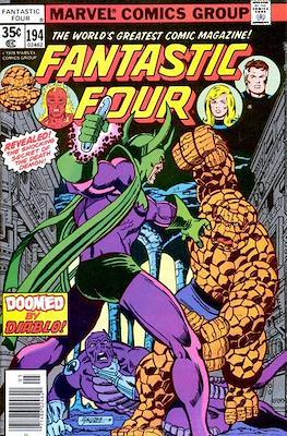 Fantastic Four Vol. 1 (1961-1996) (saddle-stitched) #194