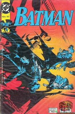 Batman (1987-2002) (Grapa) #187