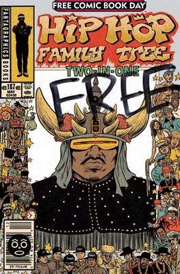 Hip Hop Family Tree: Two-In-One Free Comic Book Day 2014
