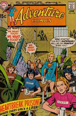 New Comics / New Adventure Comics / Adventure Comics (1935-1983; 2009-2011) (Saddle-Stitched) #394