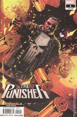 The Punisher (2018- Variant Cover) #1.4