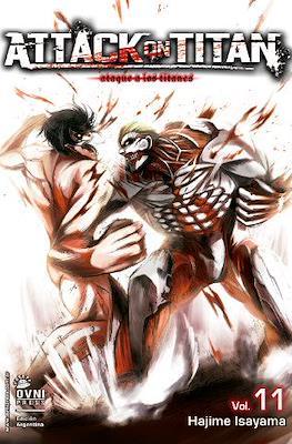 Attack on Titan (Rústica con solapas) #11