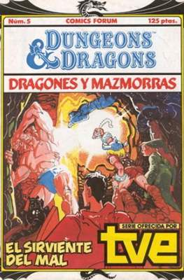 Dungeons and dragons. Dragones y mazmorras #5