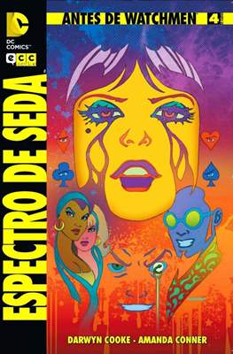 Antes de Watchmen: Espectro de Seda (Grapa) #4