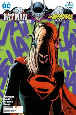 El Batman que ríe: Los Infectados (Grapa 64-72 pp) #3