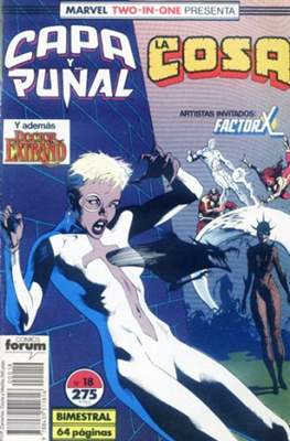 Capa y Puñal Vol. 1 / Marvel Two in One: Capa y Puñal & La Cosa (1989-1991) (Grapa 24-64 pp) #18