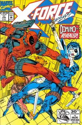 X-Force Vol. 1 (1991-2002) (Comic Book) #11