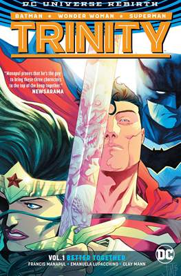 Trinity (Vol. 2 2016-...) (Hardcover 144-128 pp) #1