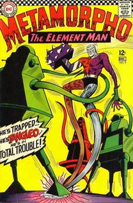 Metamorpho (Vol. 1 1965-1968) (Comic Book) #9