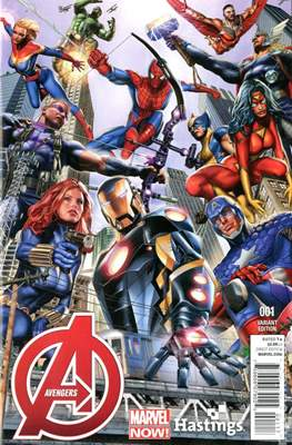 Avengers Vol. 5 (2013-2015 Variant Covers) #1.7
