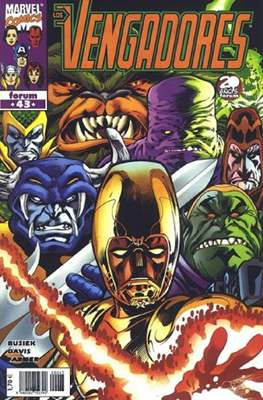 Los Vengadores vol. 3 (1998-2005) (Grapa. 17x26. 24 páginas. Color. (1998-2005).) #43
