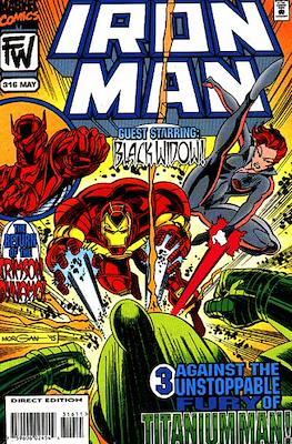Iron Man Vol. 1 (1968-1996) (Comic book) #316
