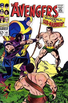 The Avengers Vol. 1 (1963-1996) (Grapa) #40