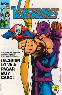 Los Vengadores Vol. 1 (1983-1994) (Grapa) #36