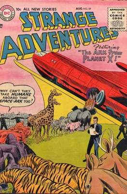 Strange Adventures (Comic Book) #59