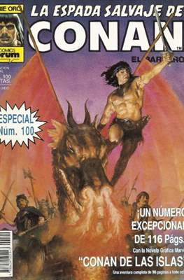 La Espada Salvaje de Conan. Vol 1 (1982-1996) (Grapa. B/N.) #100