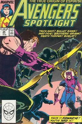 Solo Avengers / Avengers Spotlight (Comic book) #24