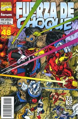 Fuerza de Choque vol. 1 (1995) (Grapa. 17x26. 24 páginas. Color. 1995.) #4
