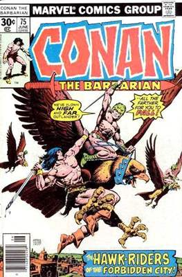 Conan The Barbarian (1970-1993) (Comic Book 32 pp) #75