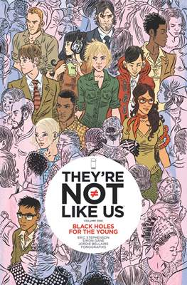 They're Not Like Us (Softcover) #1