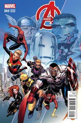 Avengers Vol. 5 (2013-2015 Variant Covers) (Comic Book) #44.1
