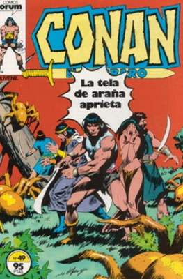 Conan el Bárbaro (1983-1994) (Grapa. 19x27. 36/32/24 páginas. Color.) #49