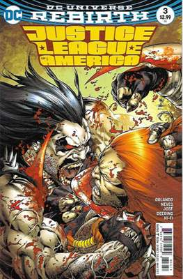 Justice League of America vol. 5 (2017-2018) (Grapa) #3