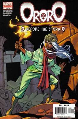Ororo: Before The Storm (Comic Book) #2