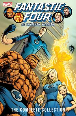 Fantastic Four by Jonathan Hickman: The Complete Collection (Softcover) #1