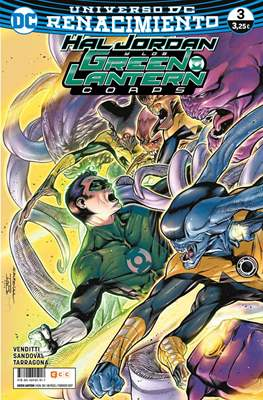 Green Lantern. Nuevo Universo DC / Hal Jordan y los Green Lantern Corps. Renacimiento (Grapa) #58/3