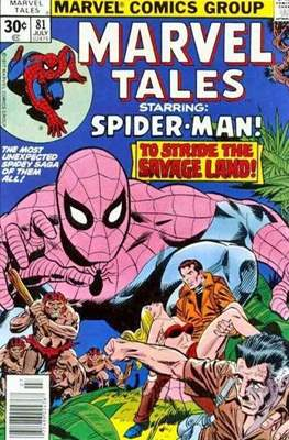 Marvel Tales (Grapa) #81
