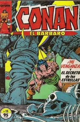 Conan el Bárbaro (1983-1994) (Grapa. 19x27. 36/32/24 páginas. Color.) #13