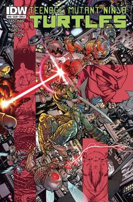 Teenage Mutant Ninja Turtles (2011-...) (Comic-book) #48