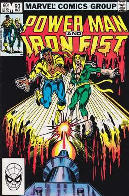 Hero for Hire / Power Man Vol 1 / Power Man and Iron Fist Vol 1 (Comic Book) #93
