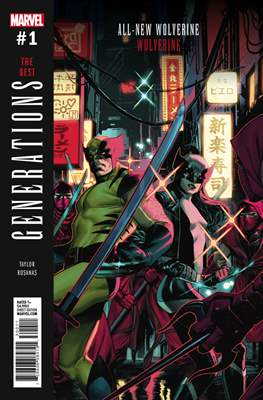 Generations - The Best (Variant Cover)