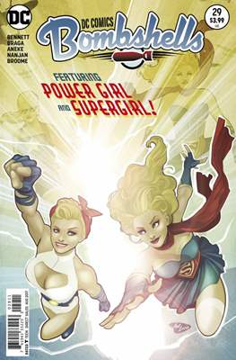 DC Comics: Bombshells (Comic Book) #29