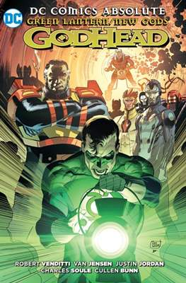 Green Lantern/New Gods: GodHead. DC Cómics Absolute
