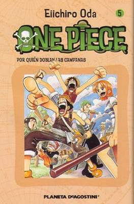 One Piece (Rústica con sobrecubierta) #5