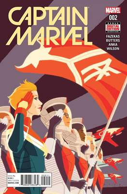 Captain Marvel Vol. 9 (2016) (Comic-Book) #2