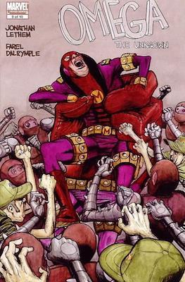 Omega The Unknown Vol. 2 (comic book) #9