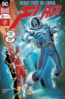The Flash Vol. 5 (2016-2020) (Comic Book) #38