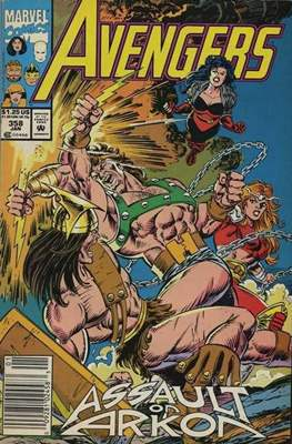 The Avengers Vol. 1 (1963-1996) (Grapa) #358