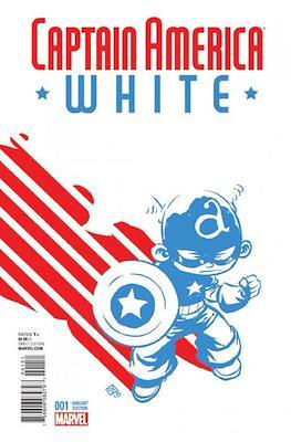 Captain America White (Variant Cover)
