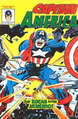 Capitán América Vol. 4 (1981-1982) (Grapa) #3