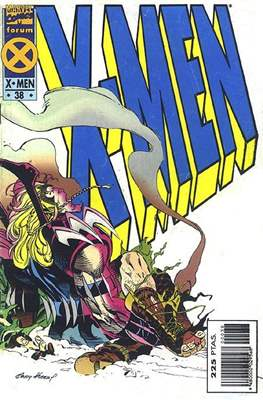 X-Men Vol. 1 (1992-1995) (Grapa 32 pp) #38