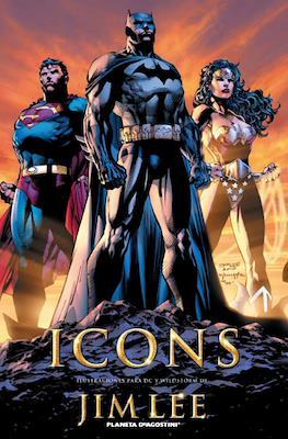 Icons. Ilustraciones para DC y Wildstorm de Jim Lee