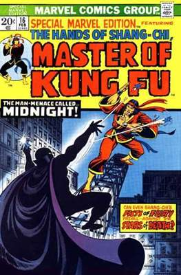 Special Marvel Edition (Comic Book. 1971 - 1974. Renamed and continued as Master of Kung Fu with issue 17) #16